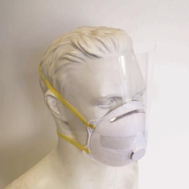 Eyeshield with Respirator